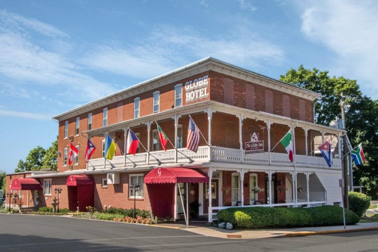 The Globe Inn in East Greenville, Pennsylvania